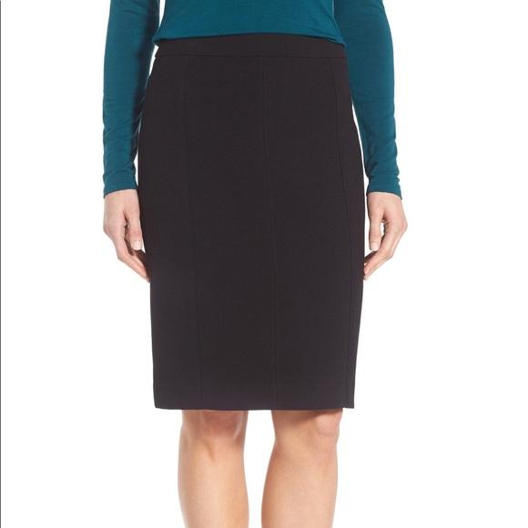 Halogen Dresses & Skirts - {Halogen} Charcoal Gray Seamed Pencil Skirt